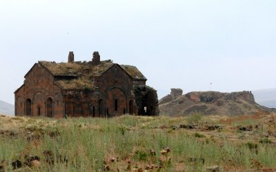 Ruins of Ani, Holy Mother of God Cathedral, Citadel