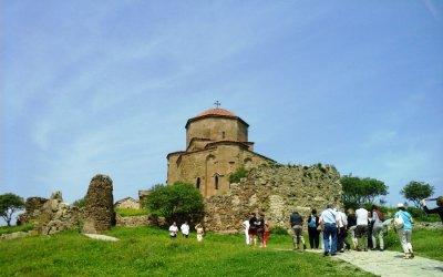 Древнейший храм Грузии Св. Джвари (Крест), IV-VI вв.